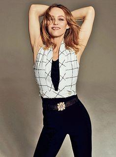 Vanessa Paradis for Harper's Bazaar Ukraine, Gap Teeth, Vanessa Paradis, Chanel, Harpers Bazaar, My Girl, Sporty, Glamour, Singer