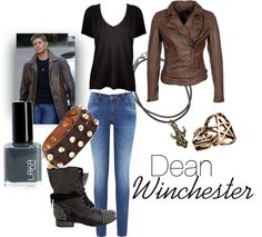 """""""Dean Winchester"""" by alexandrabjarg on Polyvore"""