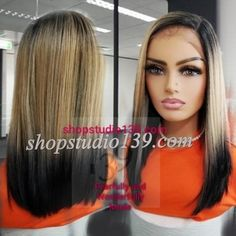 Blonde Bob Wig, Blonde Bobs, Lace Front Wigs, Lace Wigs, Braids Wig, Bob Hairstyles, Long Hair Styles, Beauty, Beautiful