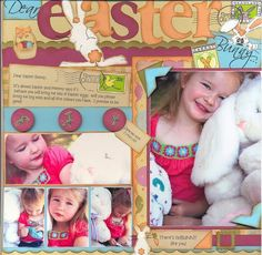 Dear+Easter+Bunny...+by+Desire+Vorster+@2peasinabucket Kids Scrapbook, Scrapbook Layouts, Scrapbooking, Easter Bunny, Teen, Teenagers, Scrapbooking Layouts, Scrapbook, Memory Books