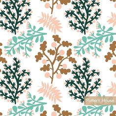 Pattern House (@house.pattern) • Fotografii şi clipuri video Instagram #pattern #patterndesign #spoonflower #botanical #flower