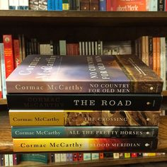 Winter is coming….. . . . . #bookstagram #bookworm #books #bookstagrammer #booksbooksbooks #fridayreads #nowreading #onthelist #cormacmccarthy #winter #winterreading #winteriscoming . get 'em here ---> http://ow.ly/W9Ci306WWBs