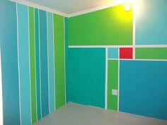 Daniel our son wanted walls that were WOW!We didn't overthink or overplan-but the result was so cool!