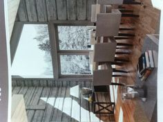 Hytte Small Homes, Cottage Style, Cabins, Sweet Home, Minimalist, Dining Table, Cozy, Modern, Life