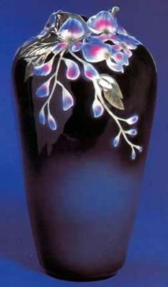 franz porcelain wisteria vase