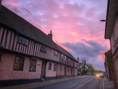 Sunset in tonight. Bury St Edmunds, Business Video, Big Sky, Sunset, Sunsets