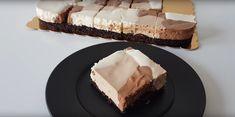 Neskutočne dobrá krémová pochúťka - šálkové rezy: Úplne sa rozplýva na jazyku! Vanilla Cake, Chocolate Cake, Feta, Cheesecake, Food And Drink, Pie, Cooking Recipes, Foods, Drinks
