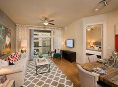 Gorgeous model apartments at AMLI RidgeGate, luxury apartments in Lone Tree.