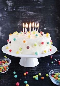 Buttermilk Funfetti Cake