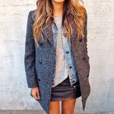 """Layered up today 'cuz I'm a little sick. ❤️"" Photo taken by @sincerelyjules on Instagram, pinned via the InstaPin iOS App! http://www.instapinapp.com (02/14/2014)"