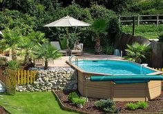 ... Pool To Be Considered : Landscaping Around Above Ground Swimming Pools