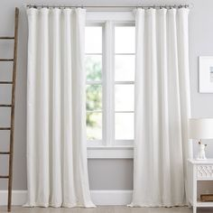 Find sheer curtains at Pottery Barn Teen. Show off your style and shop sheer curtains and drapes in fun colors and prints. Drapes And Blinds, Bedroom Drapes, Sheer Drapes, Cool Curtains, White Curtains, Panel Curtains, Master Bedroom, Curtains With Hooks, Dorm Rooms