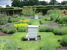 Houghton Hall - Walled Garden - Herb Garden - bee hives by ell brown, via Flickr