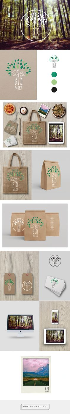 BIOmarket | Domestika #branding #proyect #bio by Claudia Urquijo... - a grouped images picture - Pin Them All
