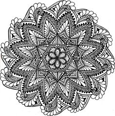 Pin by diana york on coloring pages мандалы, раскраски, зентангл. Mandala Art, Mandalas Painting, Mandalas Drawing, Zentangle Drawings, Mandala Coloring Pages, Zentangle Patterns, Doodle Drawings, Dot Painting, Colouring Pages