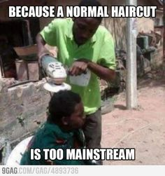Haircut Lvl: Africa