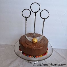 Easy Quidditch Cake for my next birthday! It's not a 24th birthday if there's no quidditch cake!!