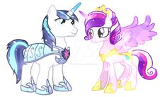 princess cadence and shining armor - Google Search