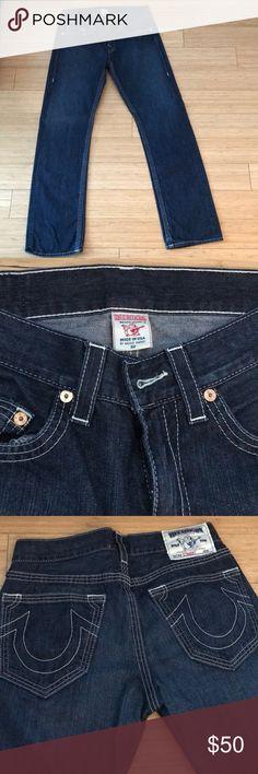 Men's true religion jeans Blue denim men's true religion jeans worn a few times no signs of wear and tear like new classic design on back pockets True Religion Jeans