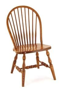 Amish Colonial Windsor Dining Room Chair