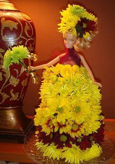 Flower Barbie