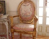French armchair, late XVIIIth, Louis XVI