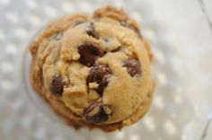 Best way to counter gray afternoons – warm chocolate chip cookies