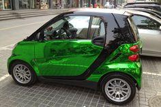 Mirror Chrome Car Wrapping