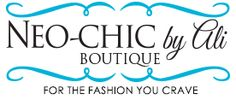 Welcome to Neo-Chic by Ali - for the fashion your crave