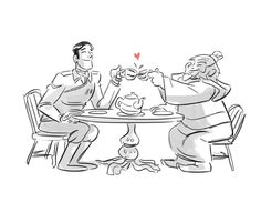 Post with 946 votes and 6582 views. Nickelodeon storyboard artist draws General Iroh and Uncle Iroh having tea (x-post from /r/IAmA) Team Avatar, Avatar Aang, Avatar The Last Airbender, Iroh Ii, Cartoon As Anime, Halloween Quotes, Funny Halloween, Storyboard Artist, Zuko