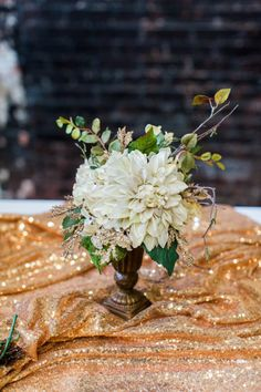 This glam gold and black tropical wedding is filled with exotic elegance. It's an indoor tropical paradise of palm trees, exotic flowers and striking gold details with pops of teal and fuchsia. Tall Gold Vases, Gold Wedding, Summer Wedding, Party City Balloons, Bridal Party Tables, Wedding Mood Board, Tropical Paradise, Exotic Flowers, Palm Trees