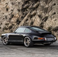 A Black And Tan Custom Porsche 911 That's All Kinds Of Cool | Airows