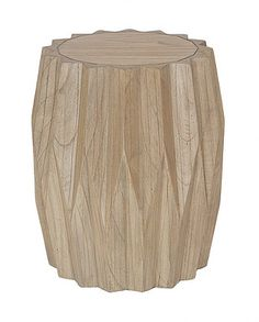 SWAZILAND SIDE TABLE   NATURAL