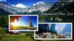 Switzerland & Paris Tour 6 Days. http://www.radiancetour.com/tour-detail/53/switzerland--paris---6-days