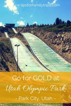 Go for GOLD at Utah Olympic Park | Park City | zipline | extreme tubing | summer vacation | bobsled | ropes course