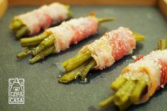 Involtini di fagiolini e pancetta on http://cosefatteincasa.it