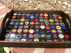 How to build a Bottle Cap Tray AND what NOT to do. Description from ana-white.com. I searched for this on bing.com/images