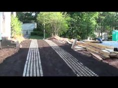 Cool Drivable Grass video! Inspired Installation of Drivable Grass Pavers/Mats/Permeable Pavers.