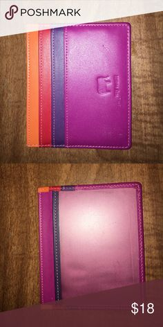 Mywalit multicolor card case Genuine leather. 4 card slits. Beautiful saturate color. mywalit Bags Wallets