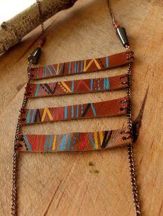 #tribal #leather #art