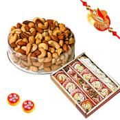 Its' easy to send your Rakshabandhan Gifts delivered in India.Send Best Rakhi gifts to your brothers anywhere in India only from giftblooms.com