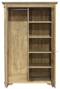 Wayhouse Wardrobe Oak. A Block and Chisel Product.