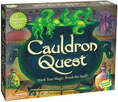 Peaceable Kingdom Cauldron Quest Award Winning Cooperative Game for Kids * Click image to review more details.