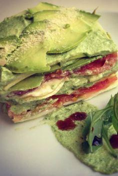 Pasta Recetas Blancas 44 New Ideas Raw Vegan Recipes, Veggie Recipes, Vegetarian Recipes, Cooking Recipes, Healthy Recipes, Food Porn, Going Vegan, Love Food, Food And Drink