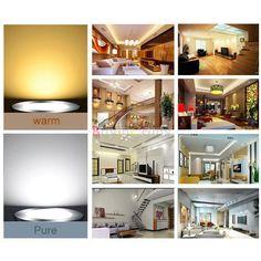 E27 25W 72 LED 5730 SMD Cover Corn Spot Light Lamp Bulb Warm Cool White 220-240V -- BuyinCoins.com