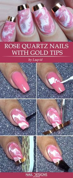 5 Easy Tutorials Different Nail Designs Step By See More