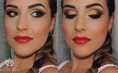 Bruna Malheiros Makeup » Blog Archive » Último vídeo do ANO: Makeup Réveillon 2014