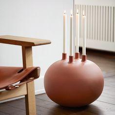 Globo Candle Holder by Dorthe Helm for Kähler