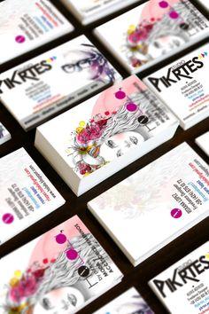 tarjetas de presentacion Holala, y piKrtes