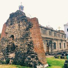 Ruinas Iglesia, Guano, Riobamba, Ecuador